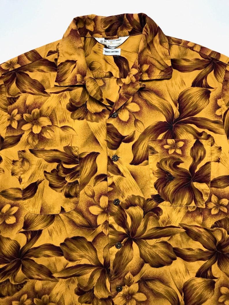 80f4def4 Vintage 1960s PENNEYS Hawaiian Shirt M Aloha Rockabilly | Etsy