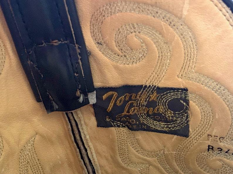 Vintage TONY LAMA Brown Snakeskin Cowboy Boots ~ Men/'s 10 B ~ Western ~ Rockabilly ~ Biker ~