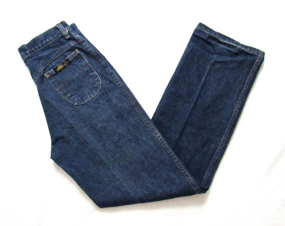 2af7d170 Vintage 1970s/1980s CHIC By H.I.S. High Waist Jeans measure | Etsy