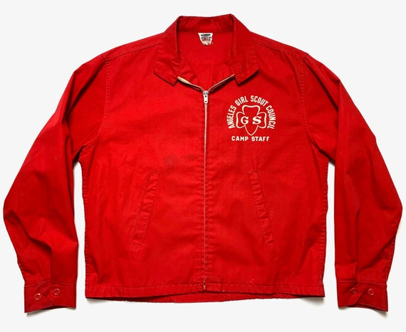 Vintage 1960s Pacific Athletic Co Windbreaker Jack