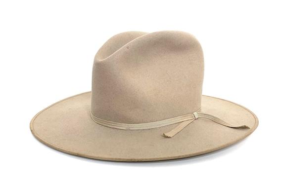 Vintage 1940s/1950s STETSON Cowboy Hat ~ size 7 1/
