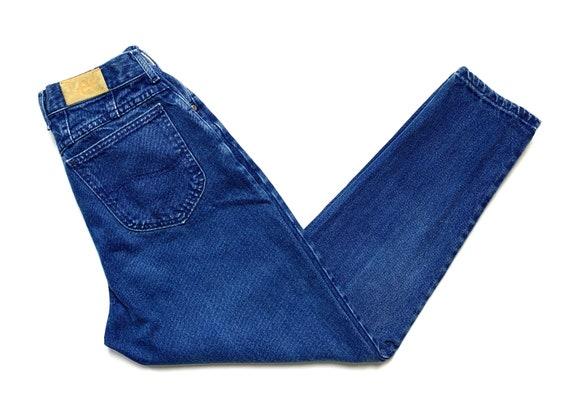 Vintage 1990s Women's LEE High Waist Jeans ~ measu