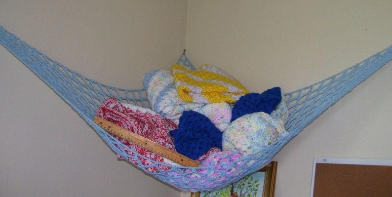 Handmade Toy Net Crochet Toy Net Toy Hammock Stuffed Animal Etsy