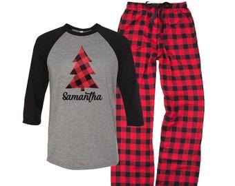 Christmas Pajamas Etsy