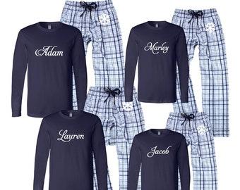 c5c1871cfd Personalized Family Matching Hanukkah Pajamas