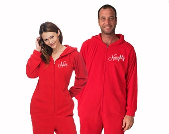 0422930f78 His and Hers Valentine s Day Onesies for adults set of 2