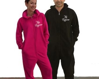 Mr. and Mrs. Fleece onesies, set of 2, Our First Christmas as Mr and Mrs, adult onesie, Mr. and Mrs., Matching pajamas, onesies for adults