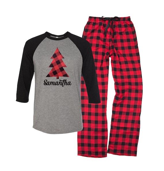 c6ac51cdd54c Christmas Pajamas Personalized Christmas Tree Pajamas