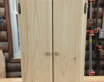 "Bathroom Wall Cabinet..2 Door Long- 6"" dp"