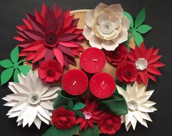Paper flower centerpiece etsy more colors paper flower centerpiece mightylinksfo