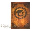 Fan-made Book of Dragons Hardcover Journal inspired personalized note book