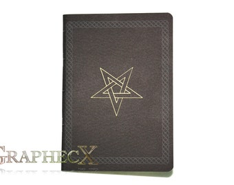 Fan-made the Nine Gates of the Kingdom of Shadows inspired personalized journal