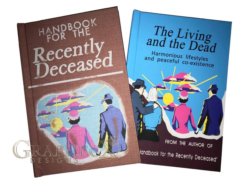 Fan-made Handbook for the Recently Deceased Living and the image 0