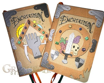 Fan-made Adventure Time Enchiridion Crossover Inspired Journal