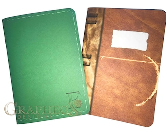 Fan-made Elena Stefan Diary Vampire Diaries inspired personalized journal notebook