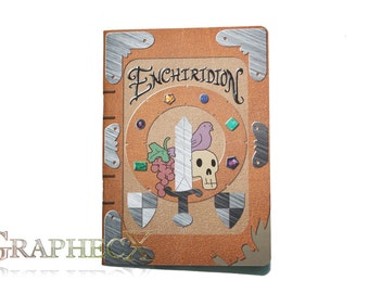 Fan-made Adventure Time Enchiridion Inspired Journal