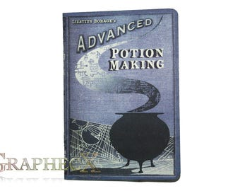 Fan-made Advanced Potion Making Harry Potter inspired personalized journal notebook