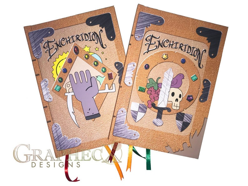Fan-made Adventure Time Enchiridion inspired personalized image 0