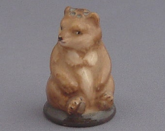 Franklin Thimble - Brown Bear (Friends of the Forest Series)