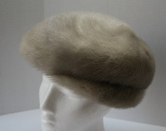 b13946b3bca Fur Trapper Hat Boys Vintage Genuine FUR Hat Ear Flaps and
