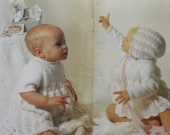 054900deb Patons 463 Beehive Baby Knitting Book Baby Talk