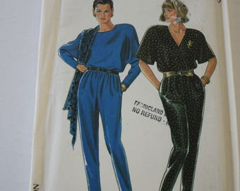 c1b9ee24492 Women s Jumpsuit Pattern from the 1980s