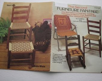 The Second Furniture Fan-Fare Macrame Pattern Book Liz Miller