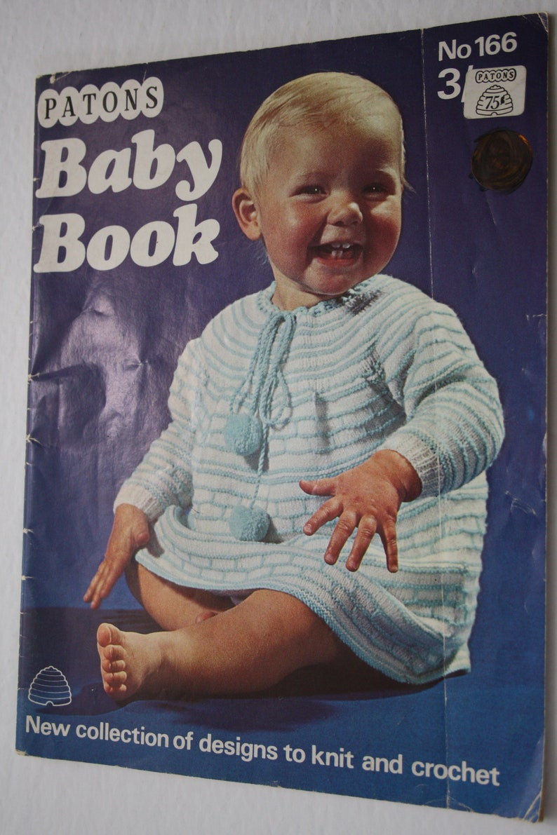 d9fdec69f Patons Baby Book 166 Knit and Crochet Patterns for Babies from