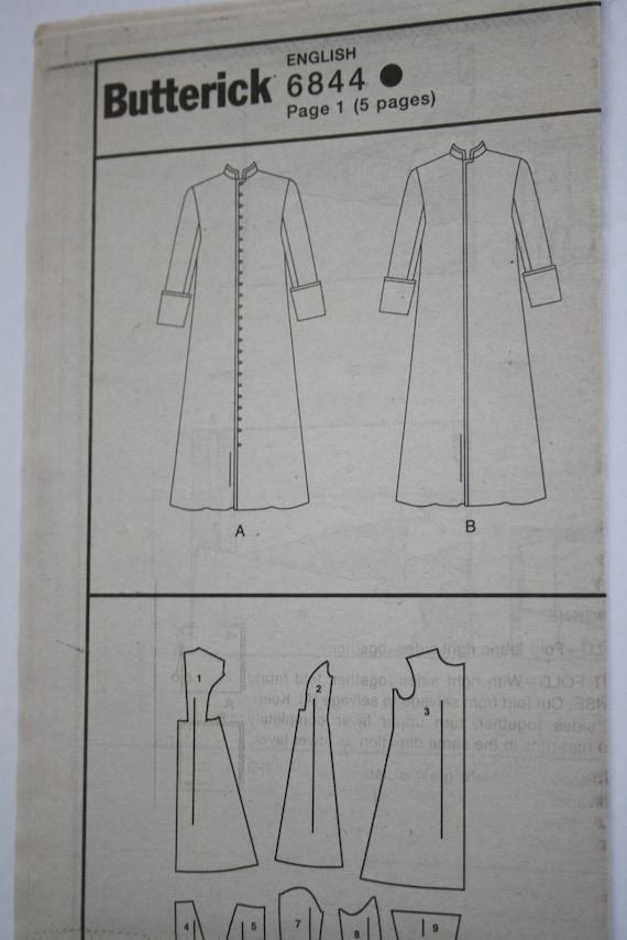 Butterick 6844 UNCUT Herren Kutte Robe religiösen christlichen