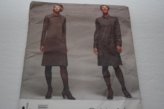 83d14b42de4 Dress Pattern Calvin Klein UNCUT Vogue 2386 Women s size