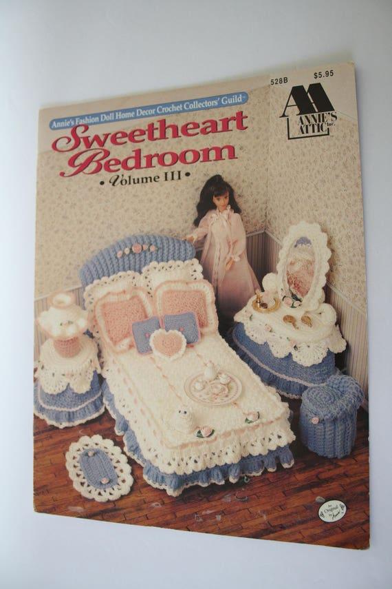 Annies Attic 528b Doll Home Decor Crochet Pattern Book Etsy