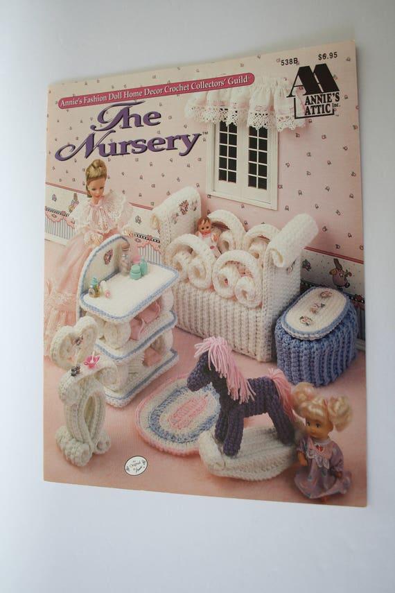 The Nursery Crochet Patterns For Fashion Barbie Dolls Furniture