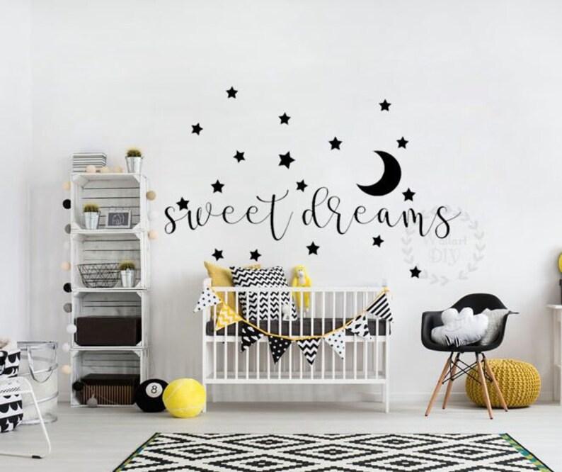 Tapete Aufkleber Kinderzimmer | Susse Traume Wand Aufkleber Kinderzimmer Wand Aufkleber Tapete Etsy