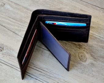 dca3537d2eaa Personalized Men s Leather Wallet