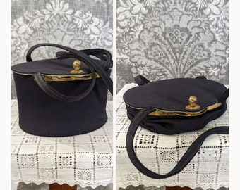vintage 1940s collapsible box purse