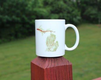 Michigan Wooded Mug