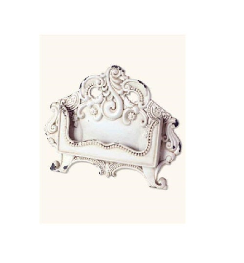 Shabby chic victorian baroque business card holder colourmoves