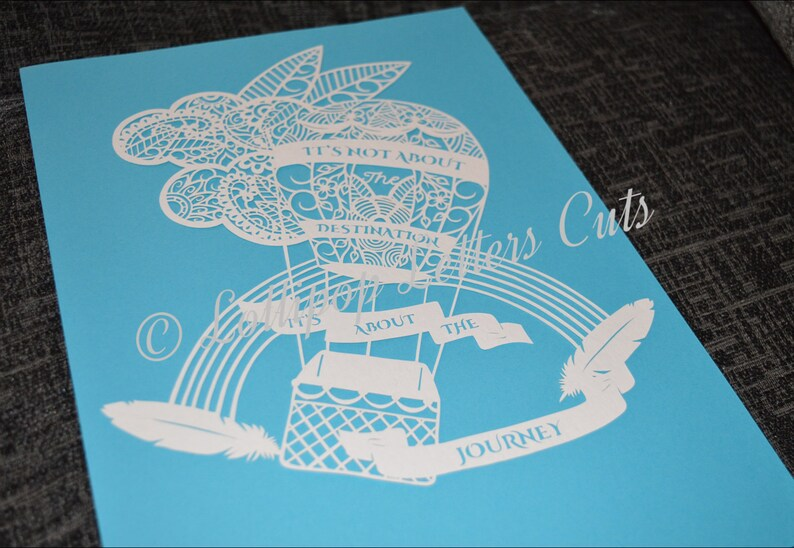 Paisley Toucan DIY Paper Cutting Template