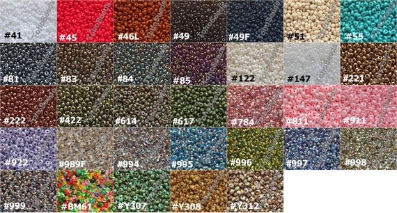 300 Red/&White//Black/&White Opaque Seed Beads; Size 5 x 3mm