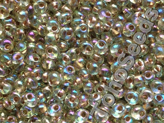 #CSY001 5//0 Crystal AB Raindrop 20 gram