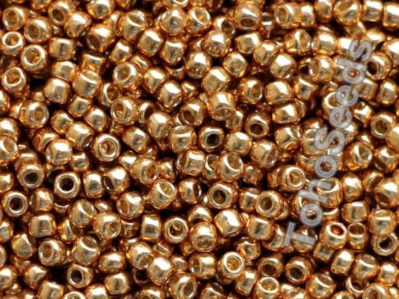 3.0 mm 10g Size 8//0 Opaque Chocolate Brown Toho Japanese Seed Beads