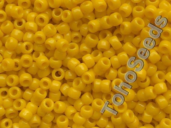 10g Opaque Sunshine Yellow TOHO Seed Beads Japanese 11//0-42b