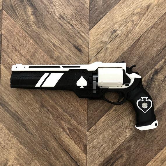 f0844ac51c8 Ace of Spades Hand Cannon Destiny 3D Printed Color