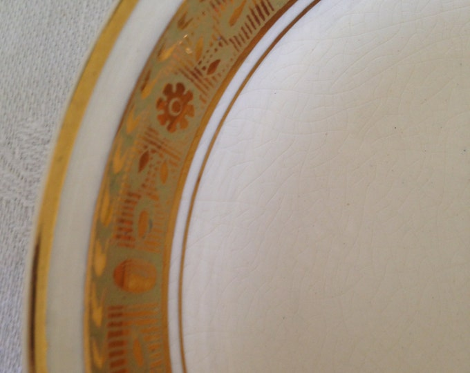 Set/4 Burleigh Ware Cream and Gold Fruit Bowls