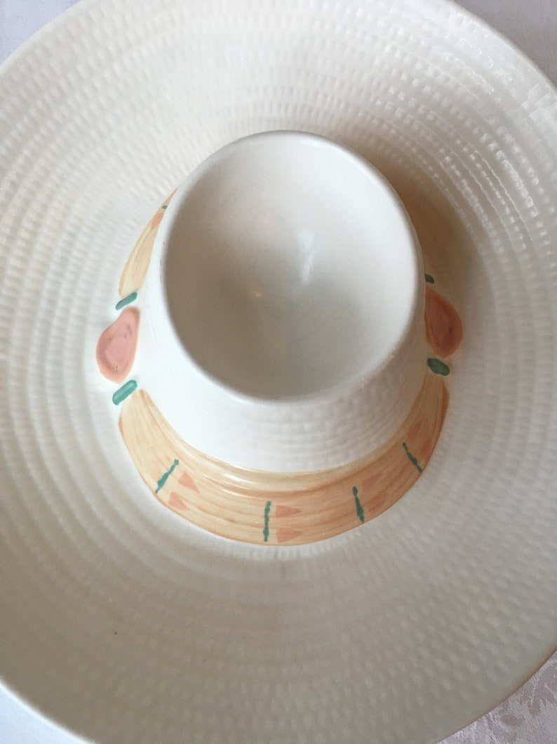 Treasure Craft Sombrero Chip and Dip Made in USA
