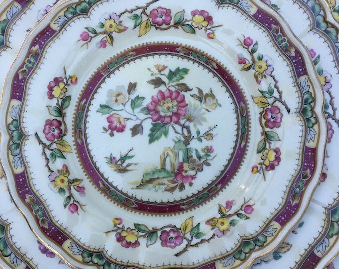 35 Piece Marlborough Royal Petal Connaught Dinnerware Set Made in Grindley,England