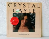Crystal Gayle - Somebody Loves You (United Artists UA-LA543-G, 1975) Vinyl LP Folk, World, Country, Country - Brand New Factory Sealed