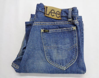 a7b7d48e Lee Jeans Vintage 90's Lee Union Made Sanforized Jeans Lee Selvedge Denim  Zipper Fly Made In Japan Waist 30'' inches