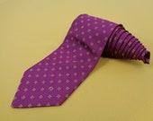 Aigner Necktie Vintage Aigner Tie Accessories Aigner Pure Woven Silk Designer Dress Necktie Scarf Made In Italy