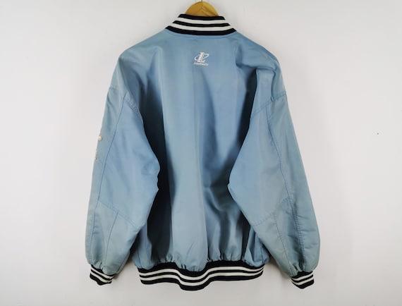 New York Baseball Jacket Distressed Vintage New Y… - image 3
